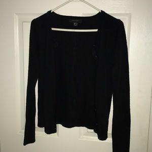 Black cardigan sweater s
